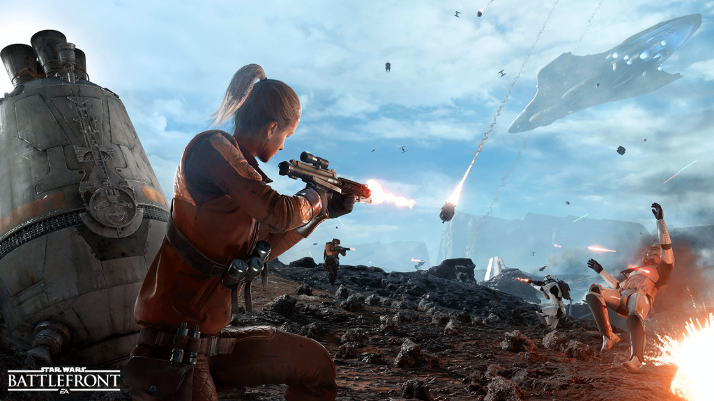 Star Wars: Battlefront BETA begins 10/8